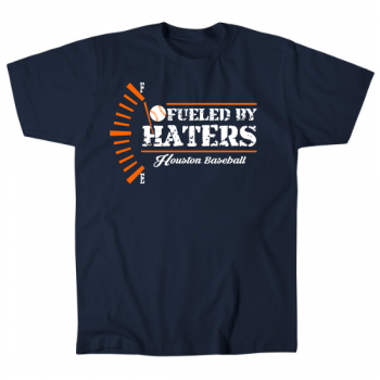 Fueled by Haters Houston Baseball Mens T-Shirt
