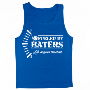 Los Angeles Baseball Fueled by Haters Mens Tank Top