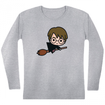 Broomstick Flying Womens Long sleeve T-Shirt