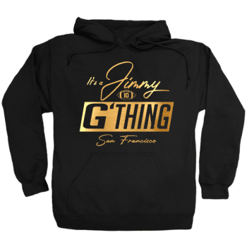 Jimmy G Thing Gold Hoodie