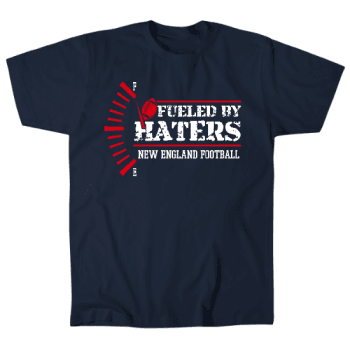 New England Fueled By Haters Mens T-Shirt