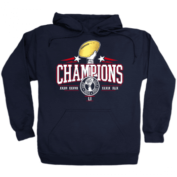 New England Champs 2019 Hoodie