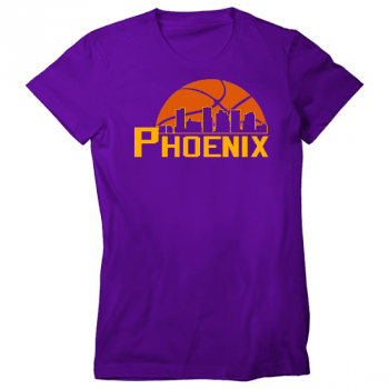 Basketball in the Valley Womens T-Shirt