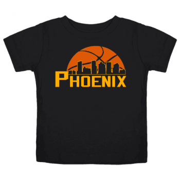 Basketball in the Valley Kids T-Shirt