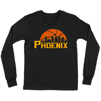 Basketball in the Valley Kids Long Sleeve T-Shirt