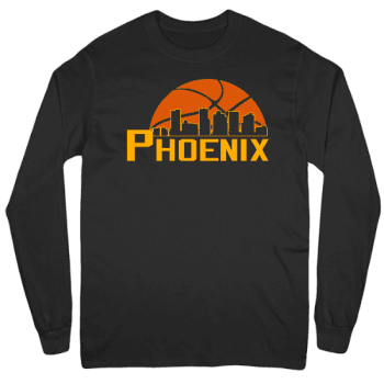 Basketball in the Valley Mens Long Sleeve T-Shirt