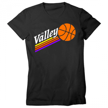 The Valley Womens T-Shirt