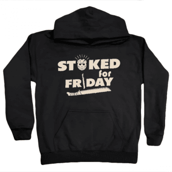 Stoked For Friday Kids Hoodie