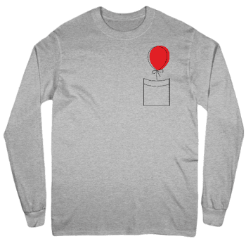 Time to Float Mens Long Sleeve T-Shirt